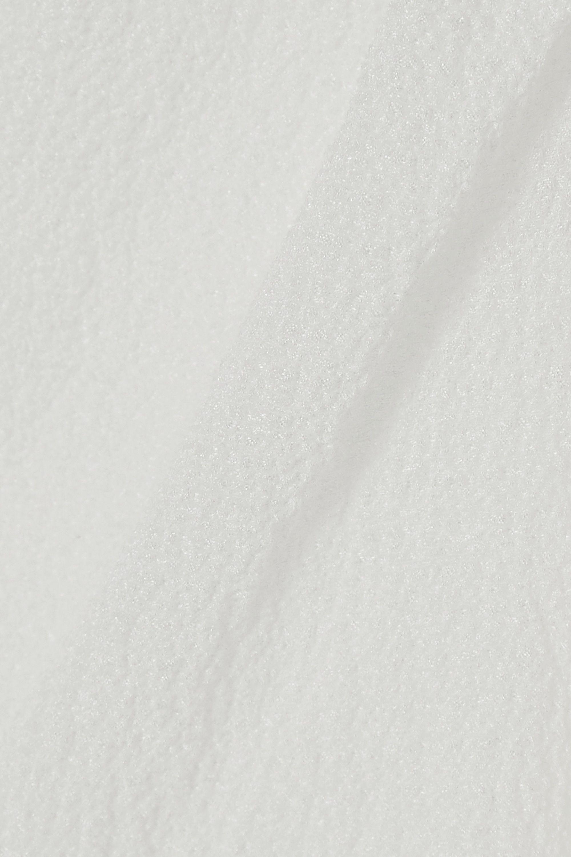 MaisonCléo Haut raccourci en cloqué de soie à liens Anna
