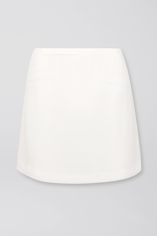 MaisonCléo Mini-jupe en cloqué de coton Anna