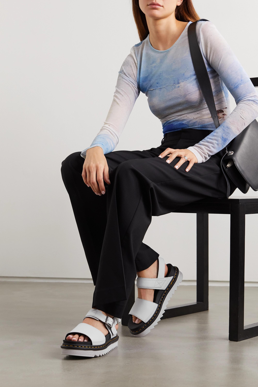 Dr. Martens Voss leather platform slingback sandals