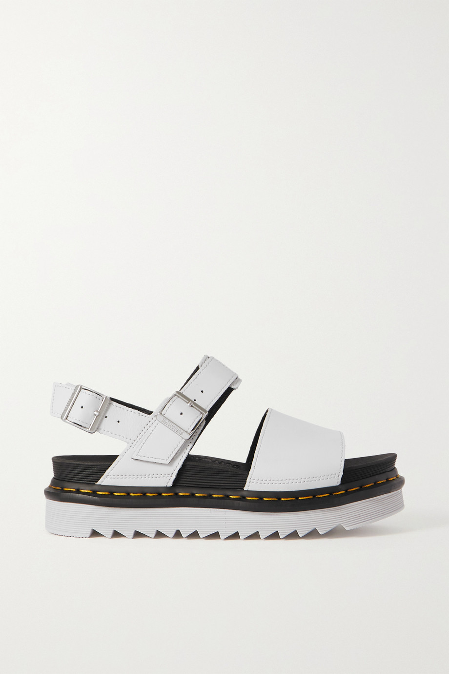 Dr. Martens Voss leather platform slingback sandals
