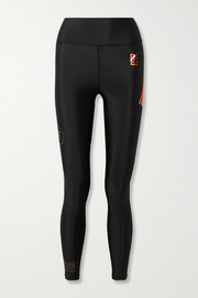 P.E NATION Arena printed stretch leggings