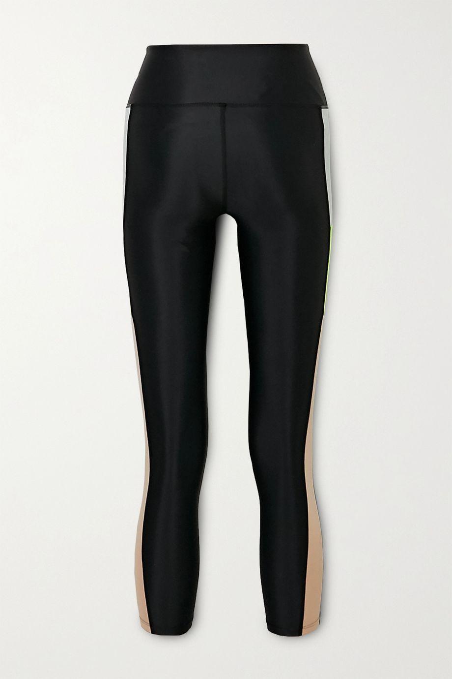 P.E NATION Bar Down printed stretch leggings