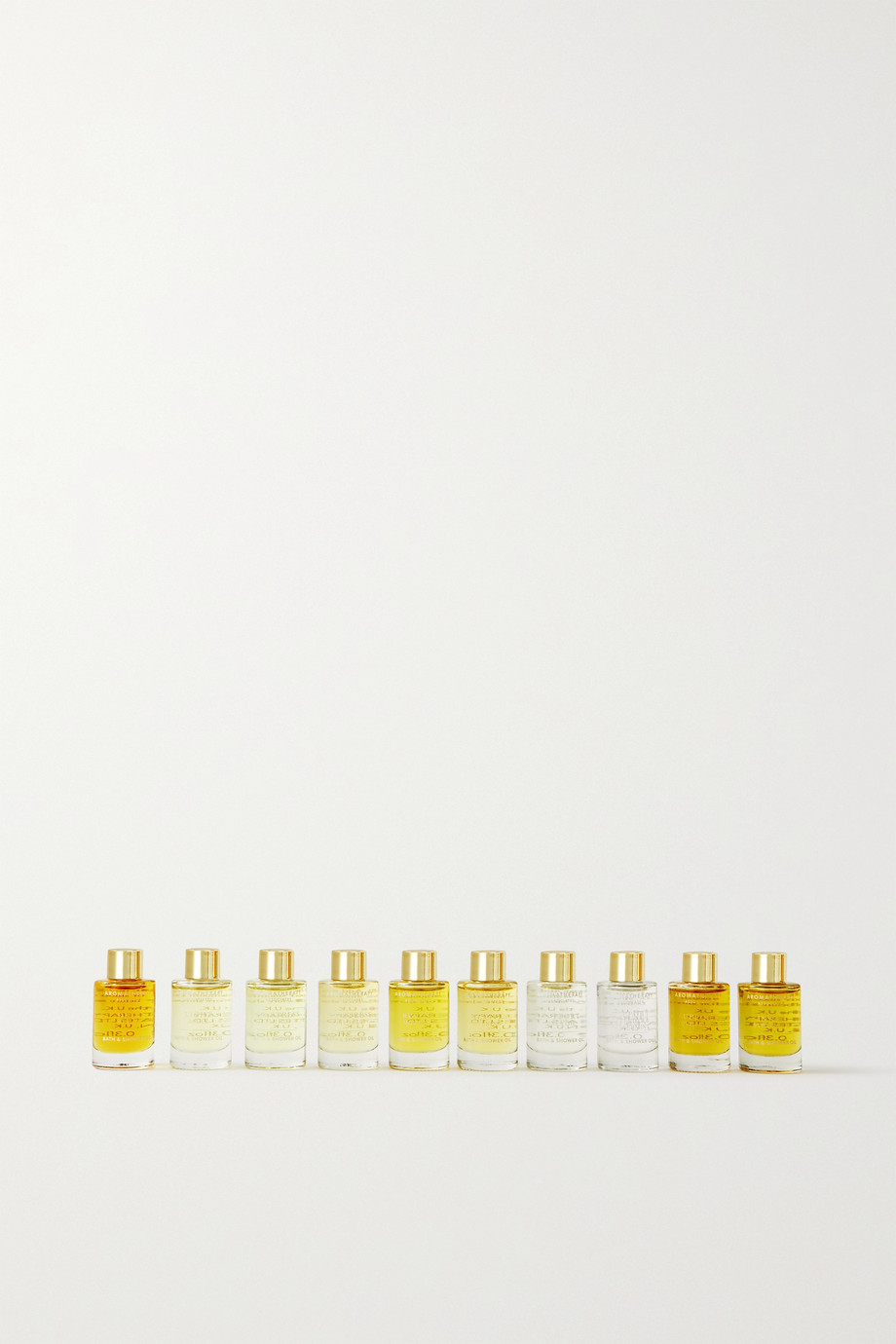 Aromatherapy Associates Ultimate Wellbeing Bath & Shower Oil Collection, 10 x 9ml