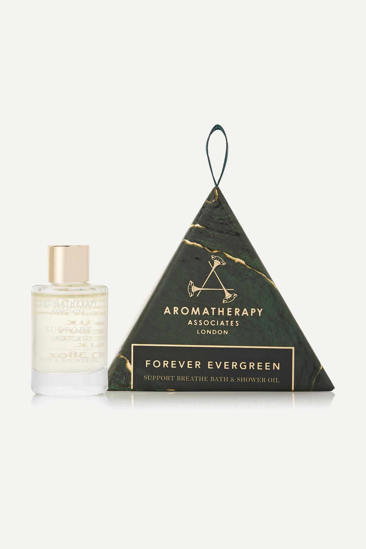 Aromatherapy Associates Forever Evergreen Support Breathe Bath & Shower Oil Ornament, 9ml