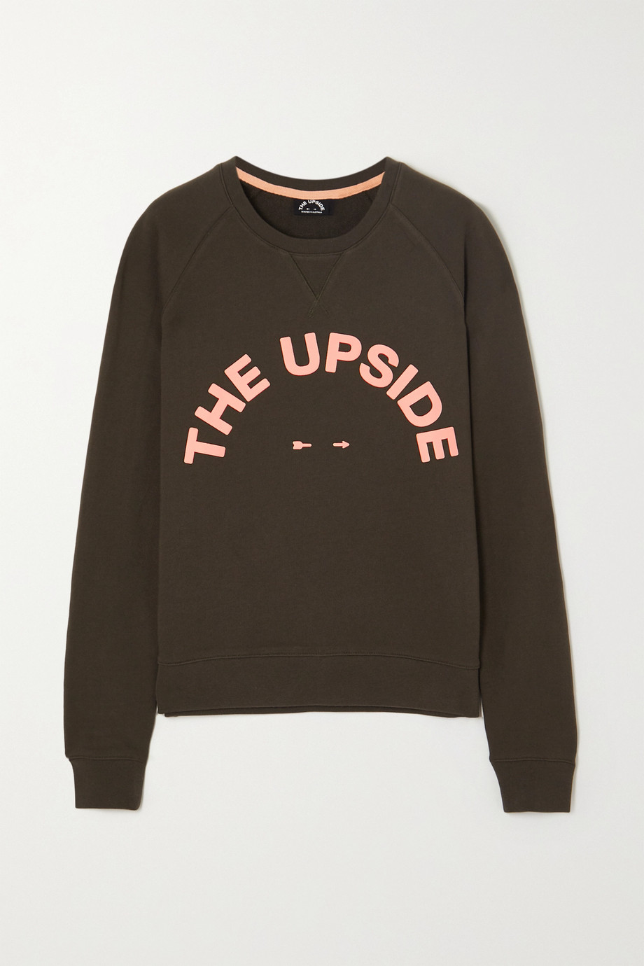 The Upside Bondi Crew printed cotton-terry sweatshirt