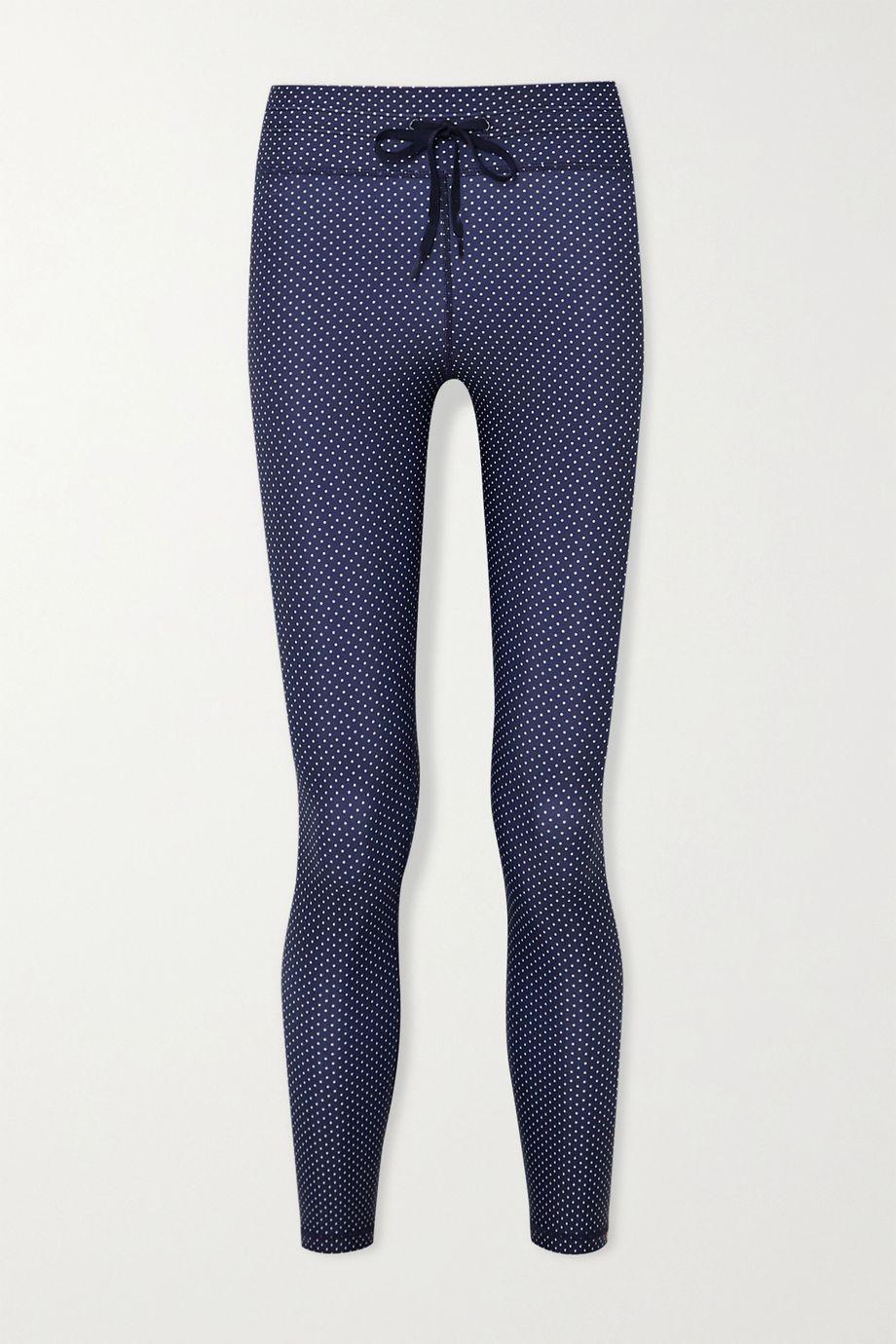 The Upside Polka-dot stretch leggings