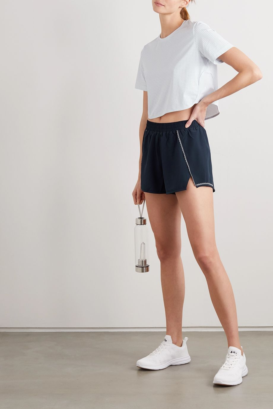 The Upside Blazen scalloped shell shorts