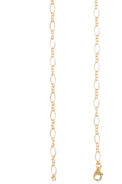 Alighieri Apollo's Dance gold-plated pearl belt