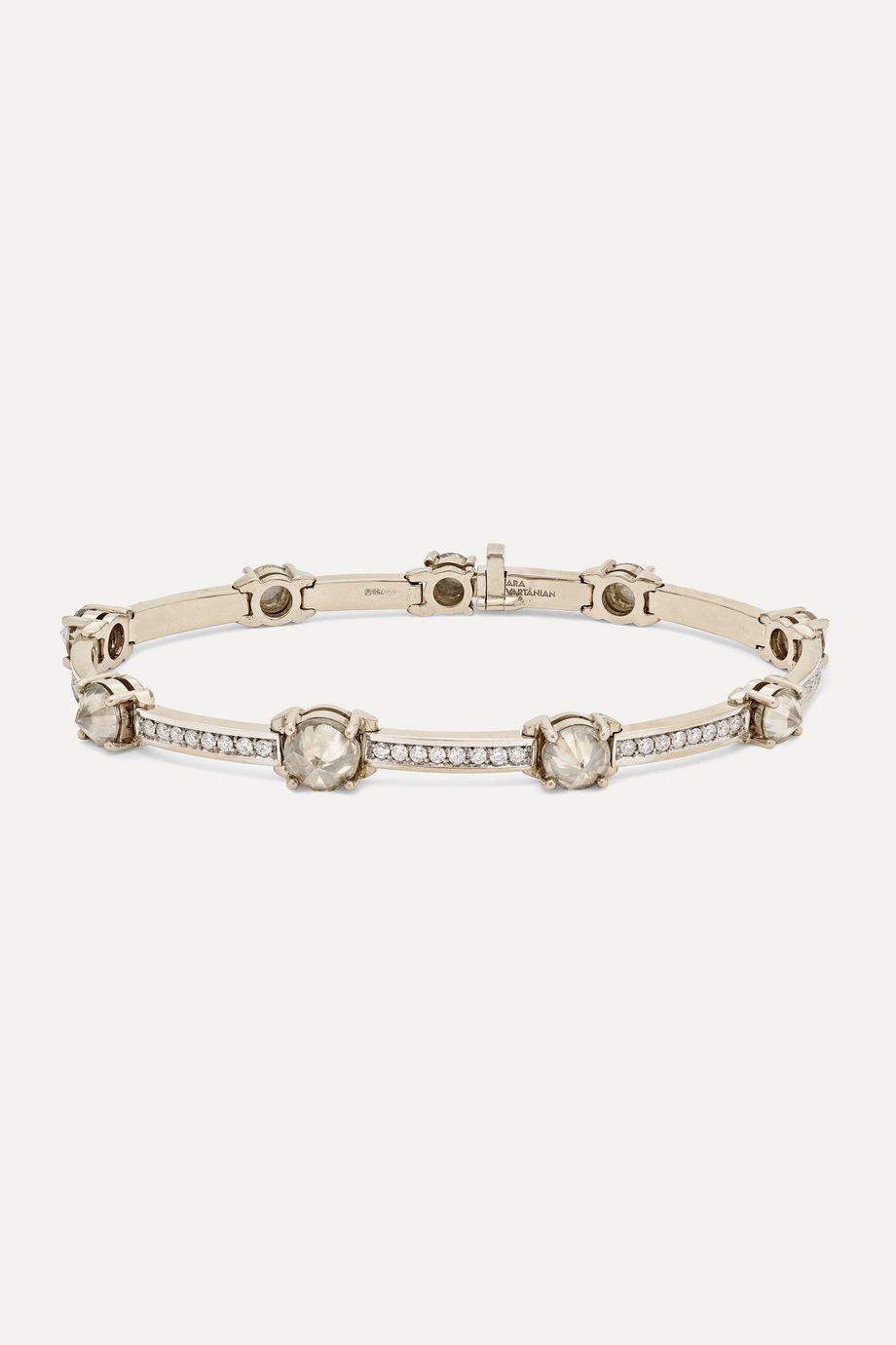 Ara Vartanian Armband aus 18Karat Weißgold mit Diamanten