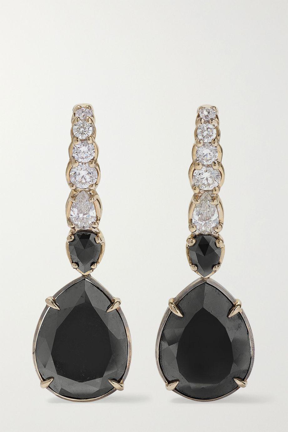 Ara Vartanian 18-karat white gold diamond earrings