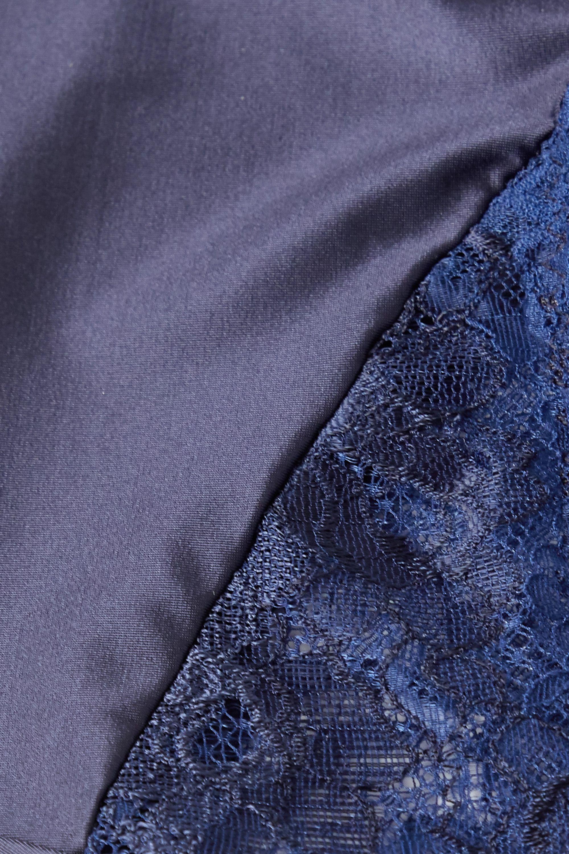 Maison Lejaby Satin-jersey and lace briefs