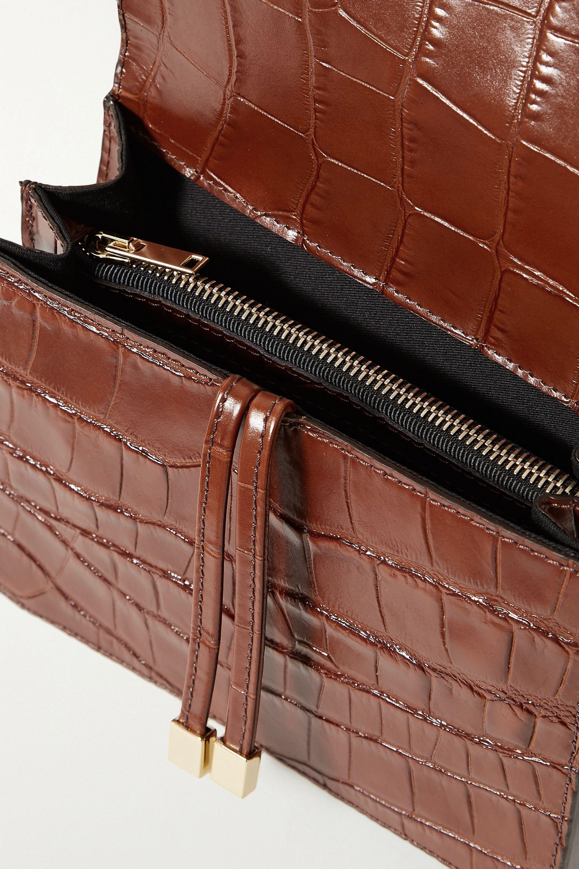 Chylak Mini croc-effect leather belt bag