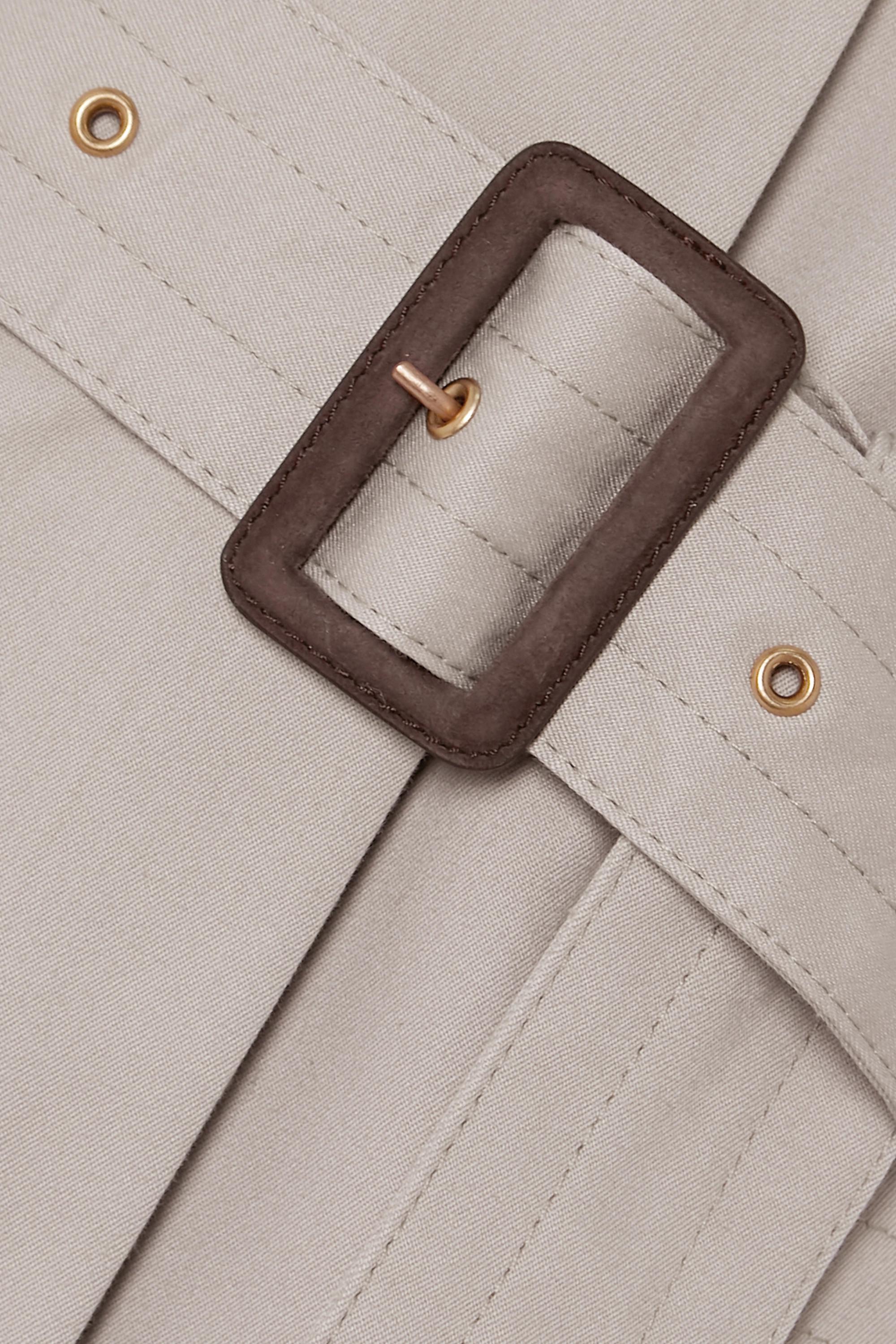 Purdey Veste en gabardine de coton à ceinture