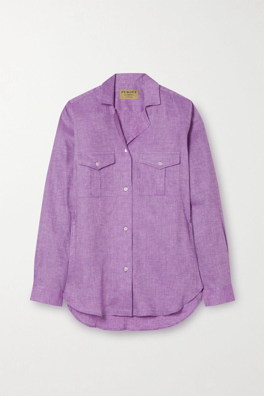 Purdey Easylife linen shirt