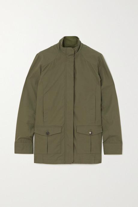 Army green Cotton-gabardine jacket | Purdey ttuHGm