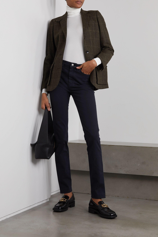 Purdey Mid-rise slim-leg jeans