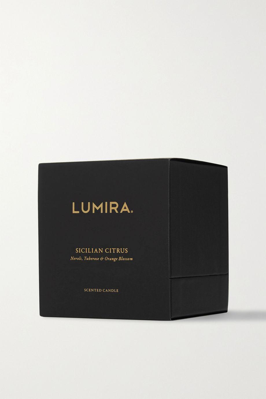 LUMIRA Sicilian Citrus scented candle, 300g