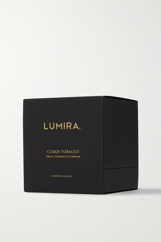 LUMIRA 古巴烟草香薰蜡烛,300g
