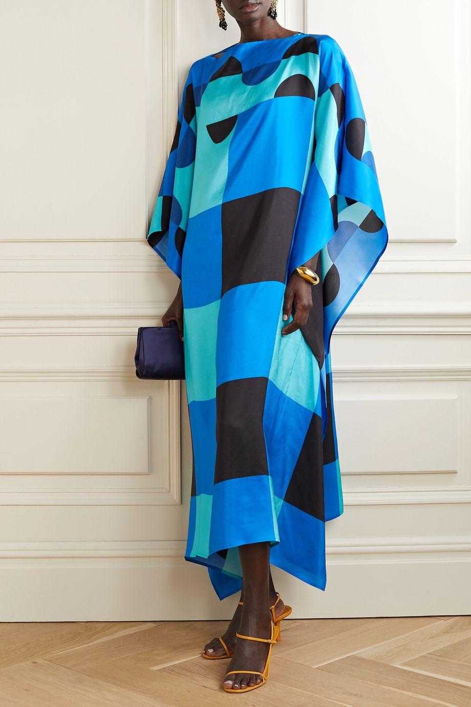 Louisa Parris Sargent silk-dupioni dress