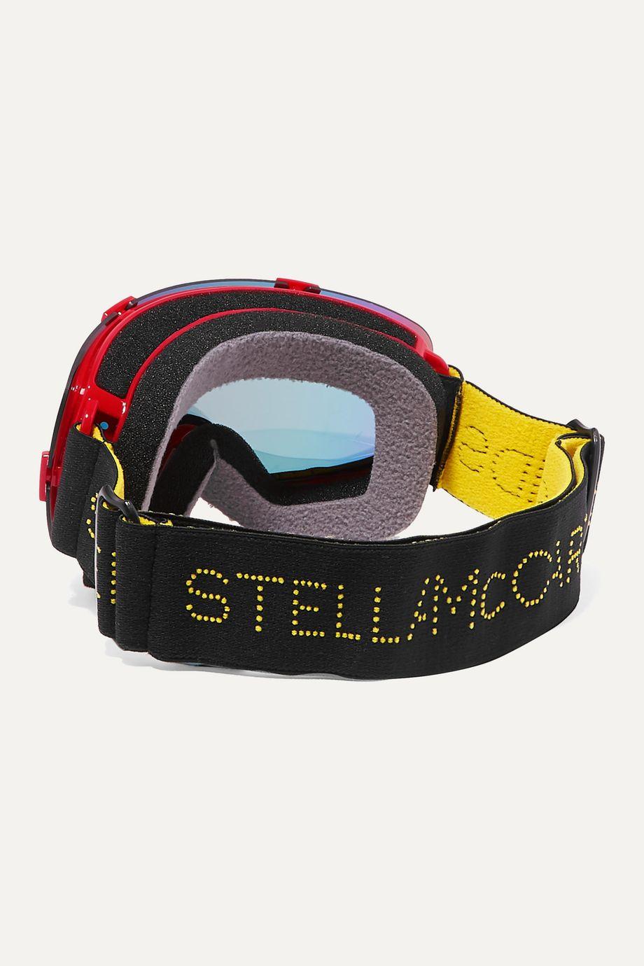 Stella McCartney Kids Mirrored ski goggles