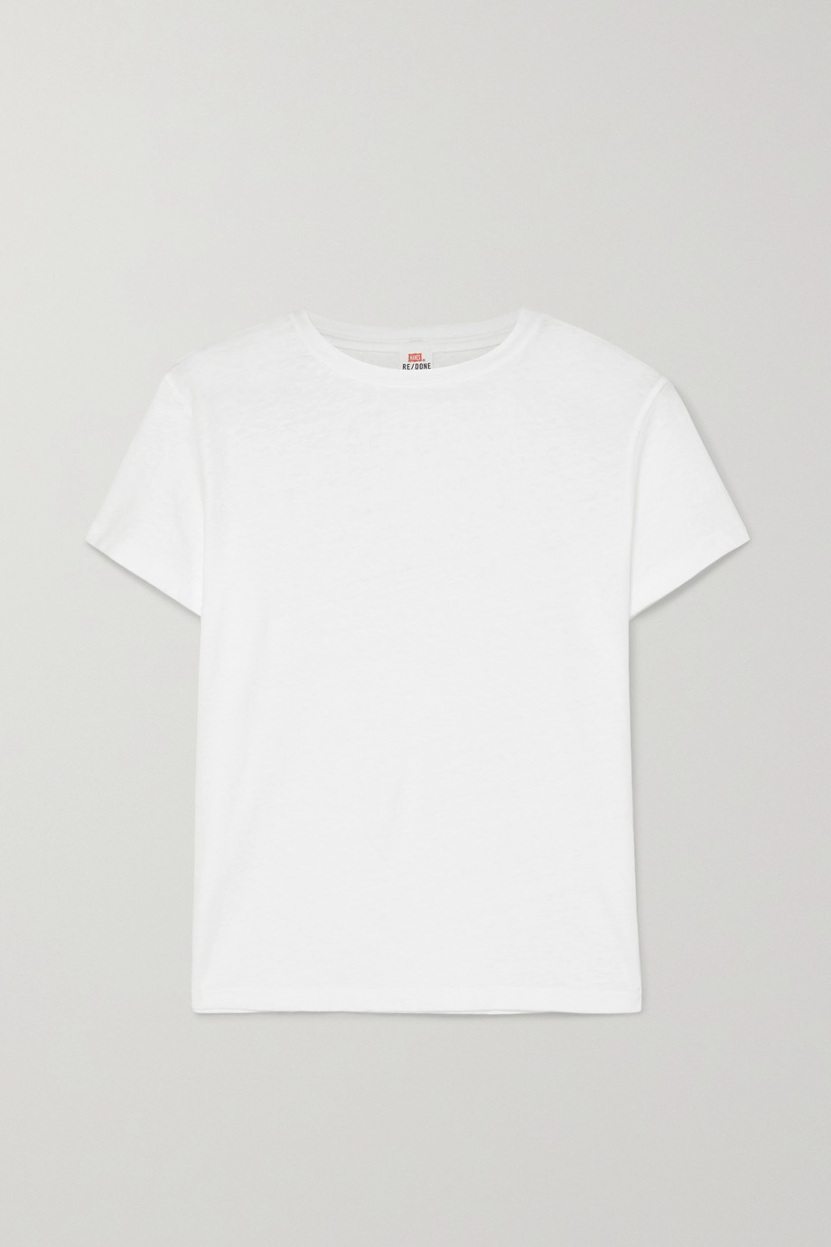 RE/DONE T-shirt en jersey de coton Classic