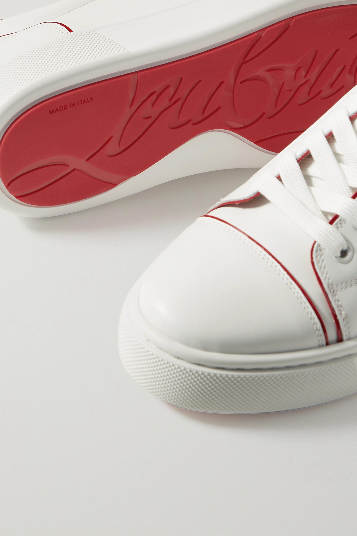 Christian Louboutin Vieirissima two-tone leather sneakers