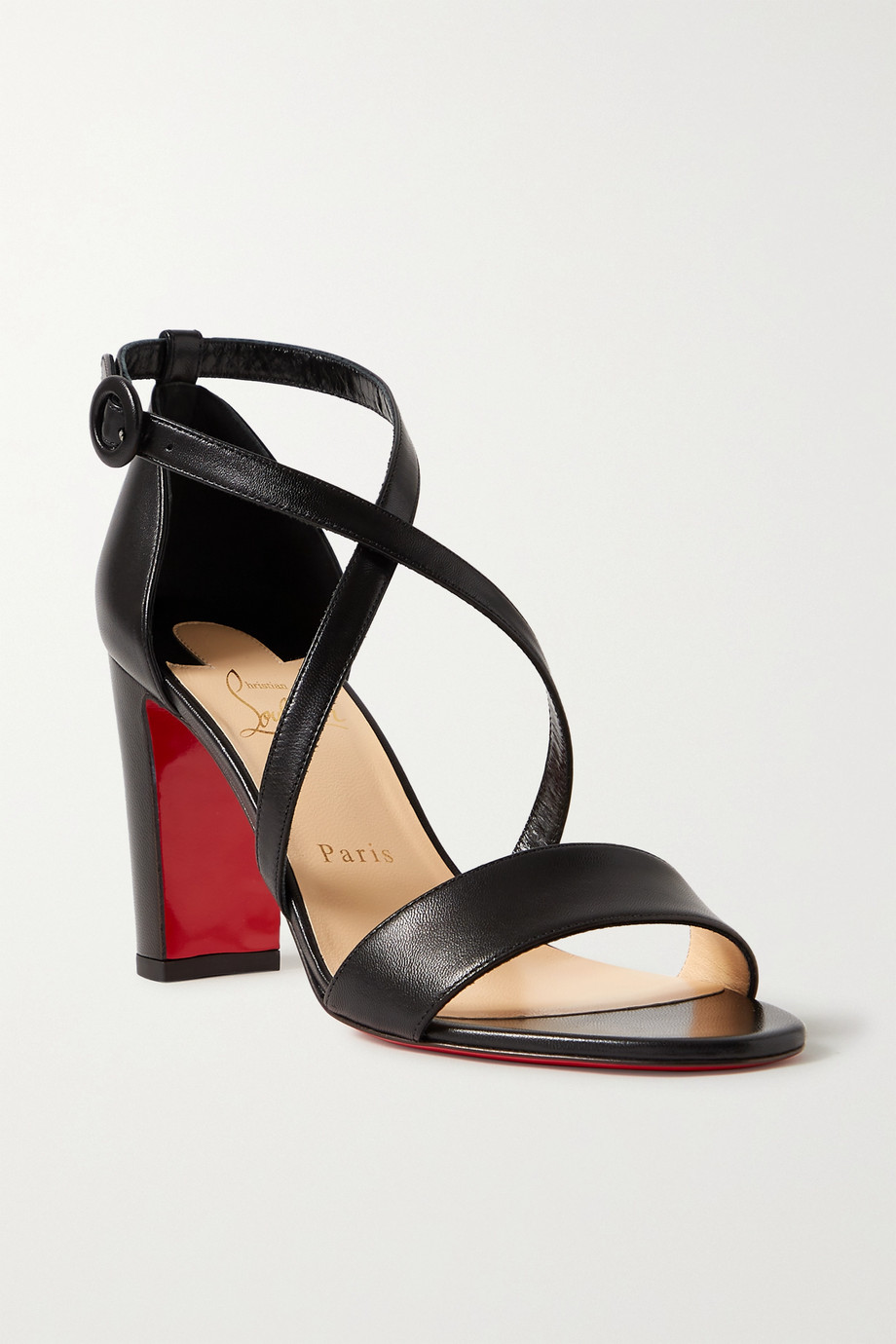 Christian Louboutin Loubi Bee 85 leather sandals
