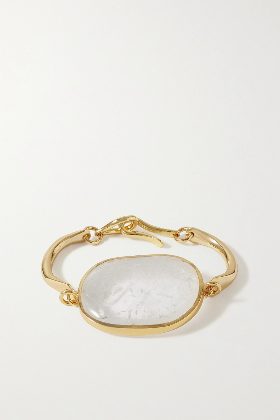 Tohum Lumia gold-plated and crystal bracelet