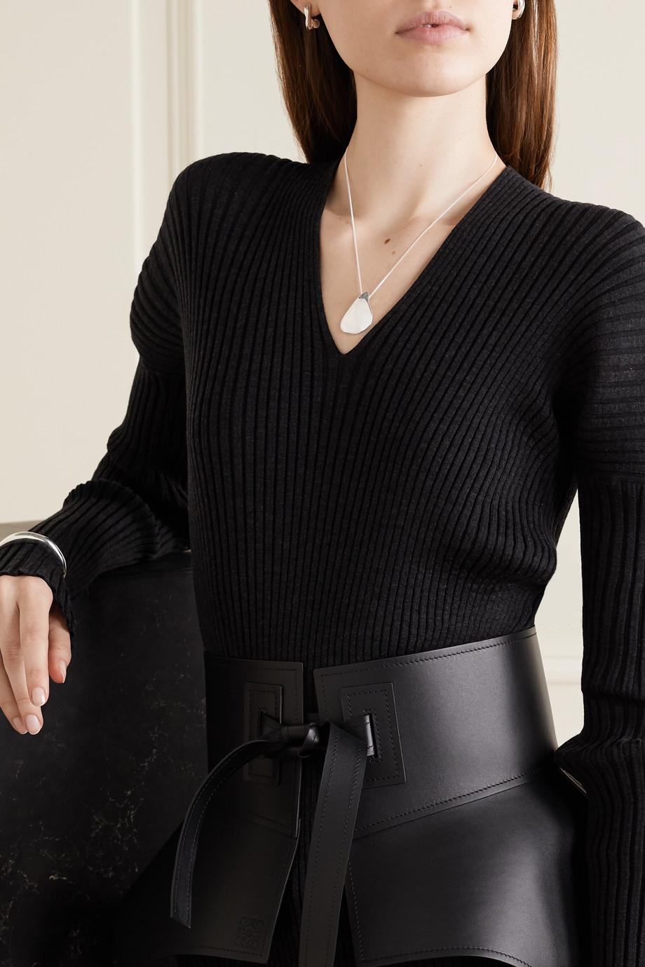 Nathalie Schreckenberg Milos 银质项链