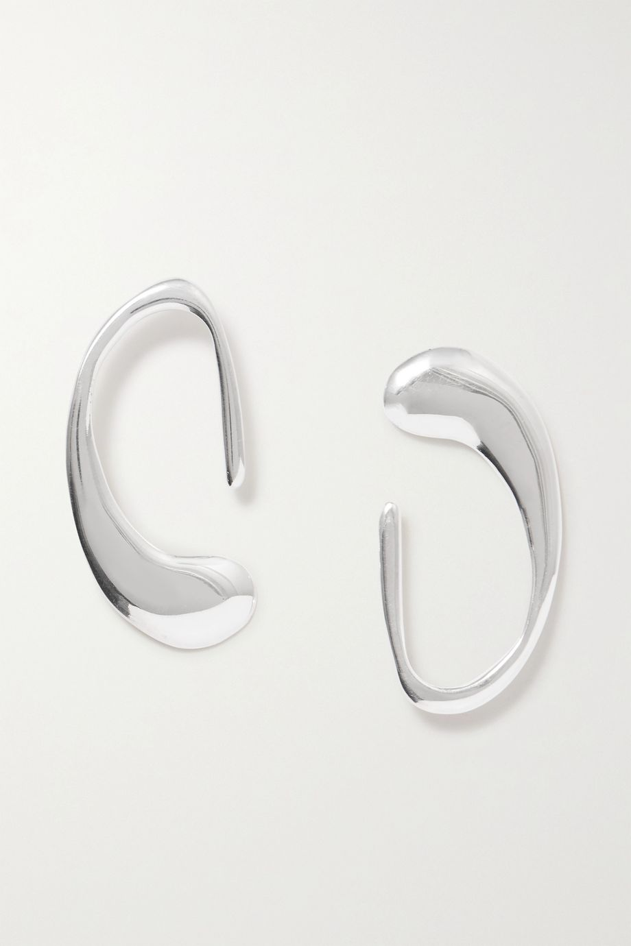 Nathalie Schreckenberg Caju silver earrings