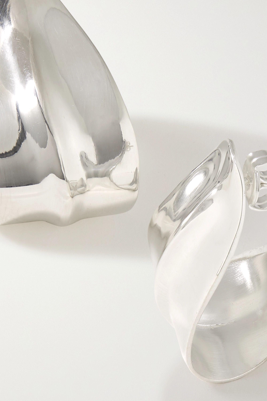 Nathalie Schreckenberg Pharaoh silver earrings