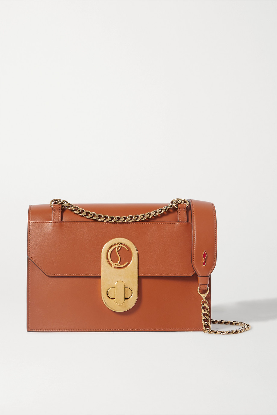 Christian Louboutin Elisa large leather shoulder bag