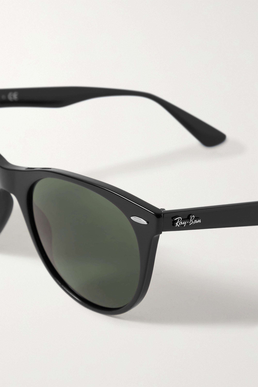 Ray-Ban Wayfarer II Classic round-frame acetate sunglasses