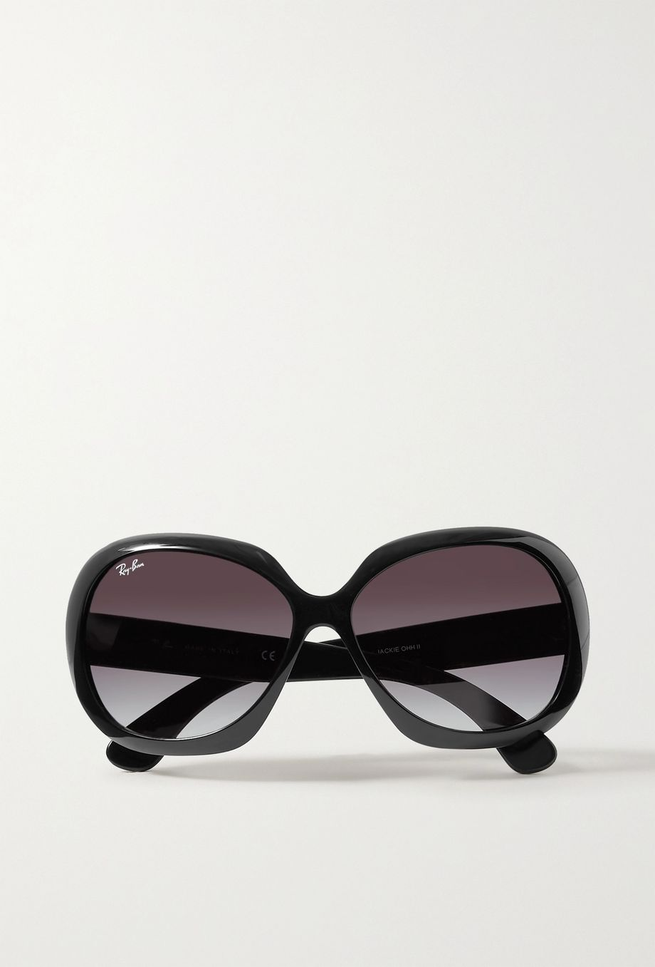 Ray-Ban Jackie Ohh II oversized square-frame acetate sunglasses