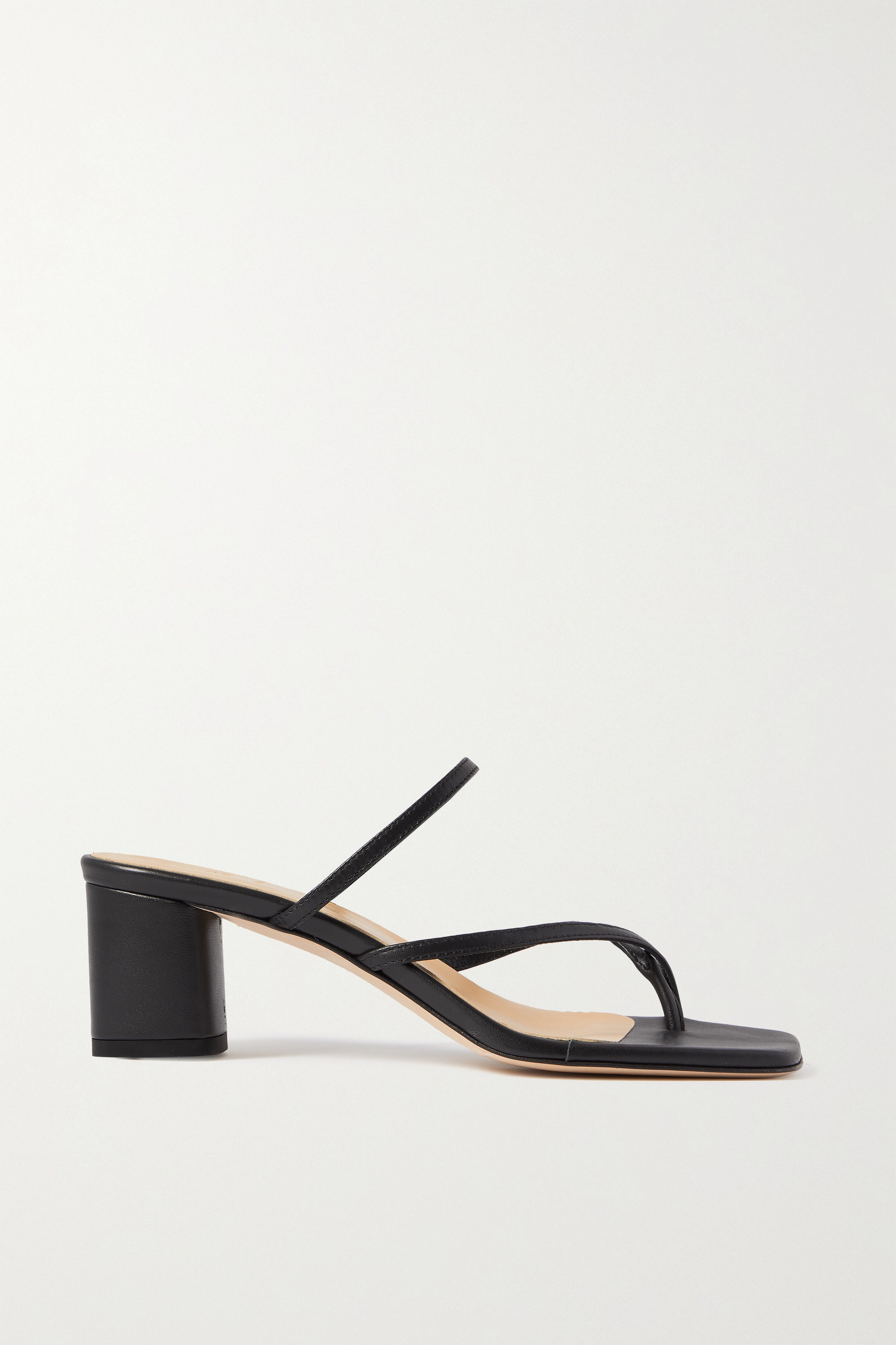 aeyde Larissa leather mules