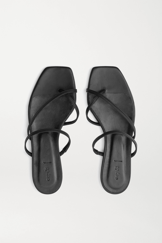 aeyde Marina Pantoletten aus Leder