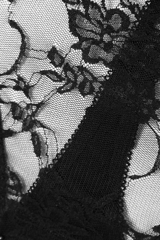 Coco de Mer Muse Sofia cutout lace thong bodysuit