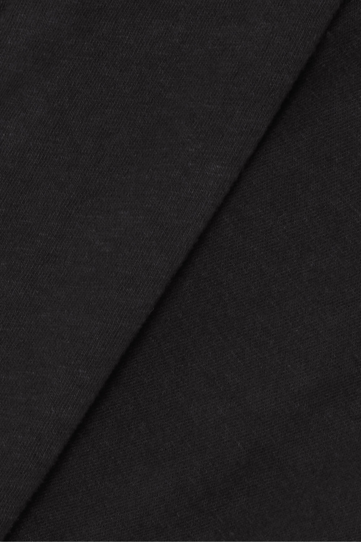 Black Classic Cotton-jersey T-shirt   Re/done