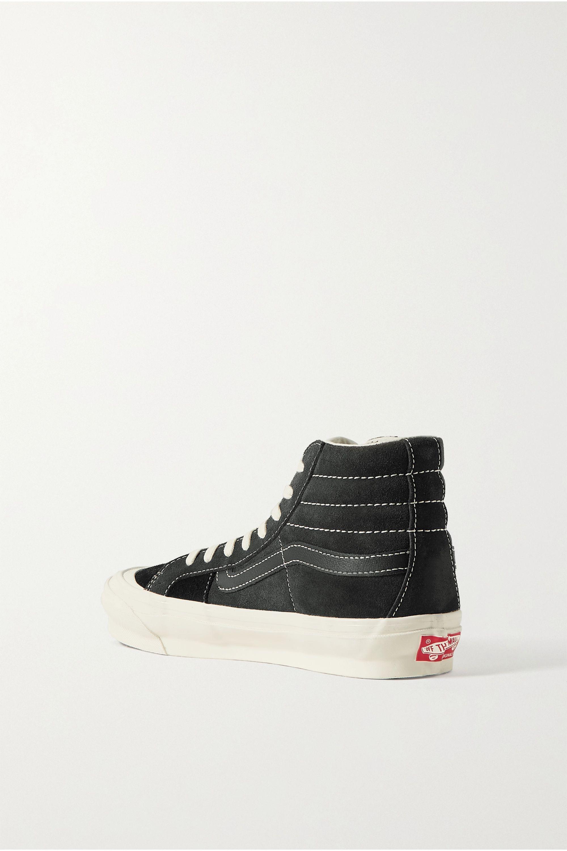 Vans UA OG Sk8-Hi LX canvas, suede and leather sneakers