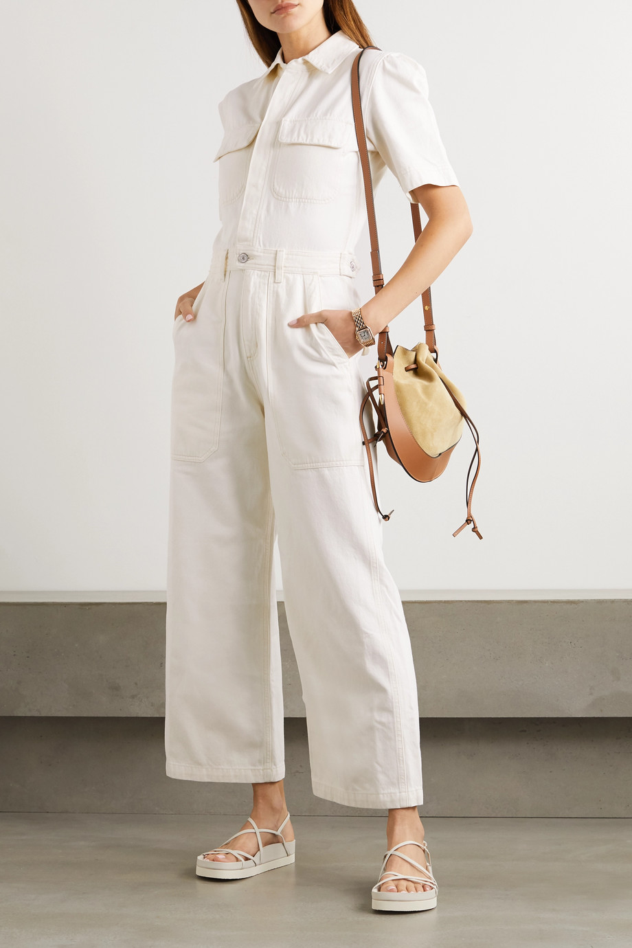 Citizens of Humanity Miki organic denim jumpsuit