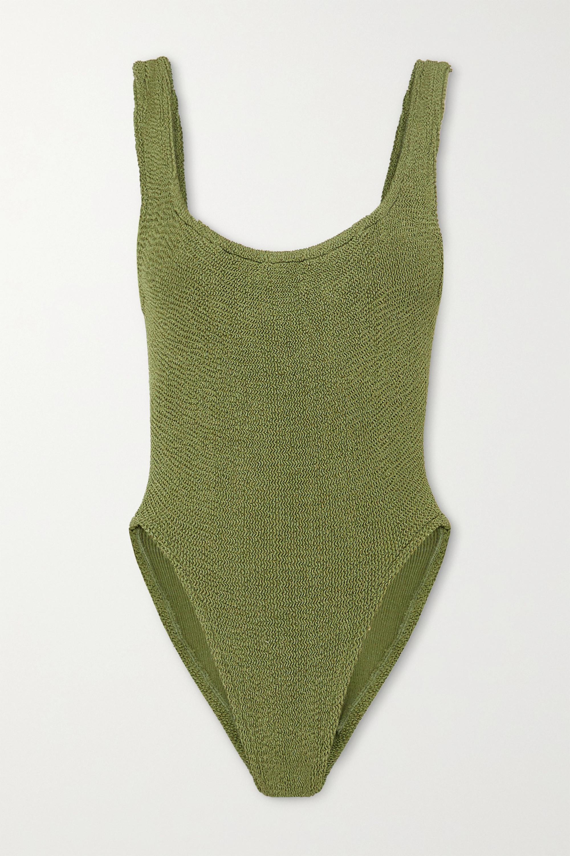 Hunza G Seersucker swimsuit