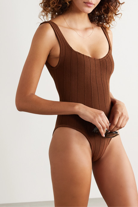 Nile Anthea ribbed swimsuit