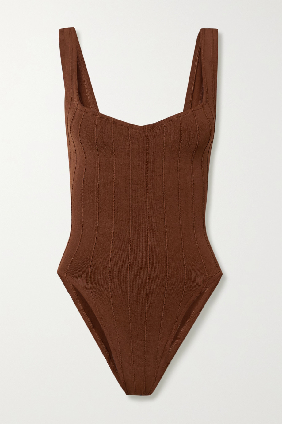 Hunza G Nile Anthea ribbed swimsuit