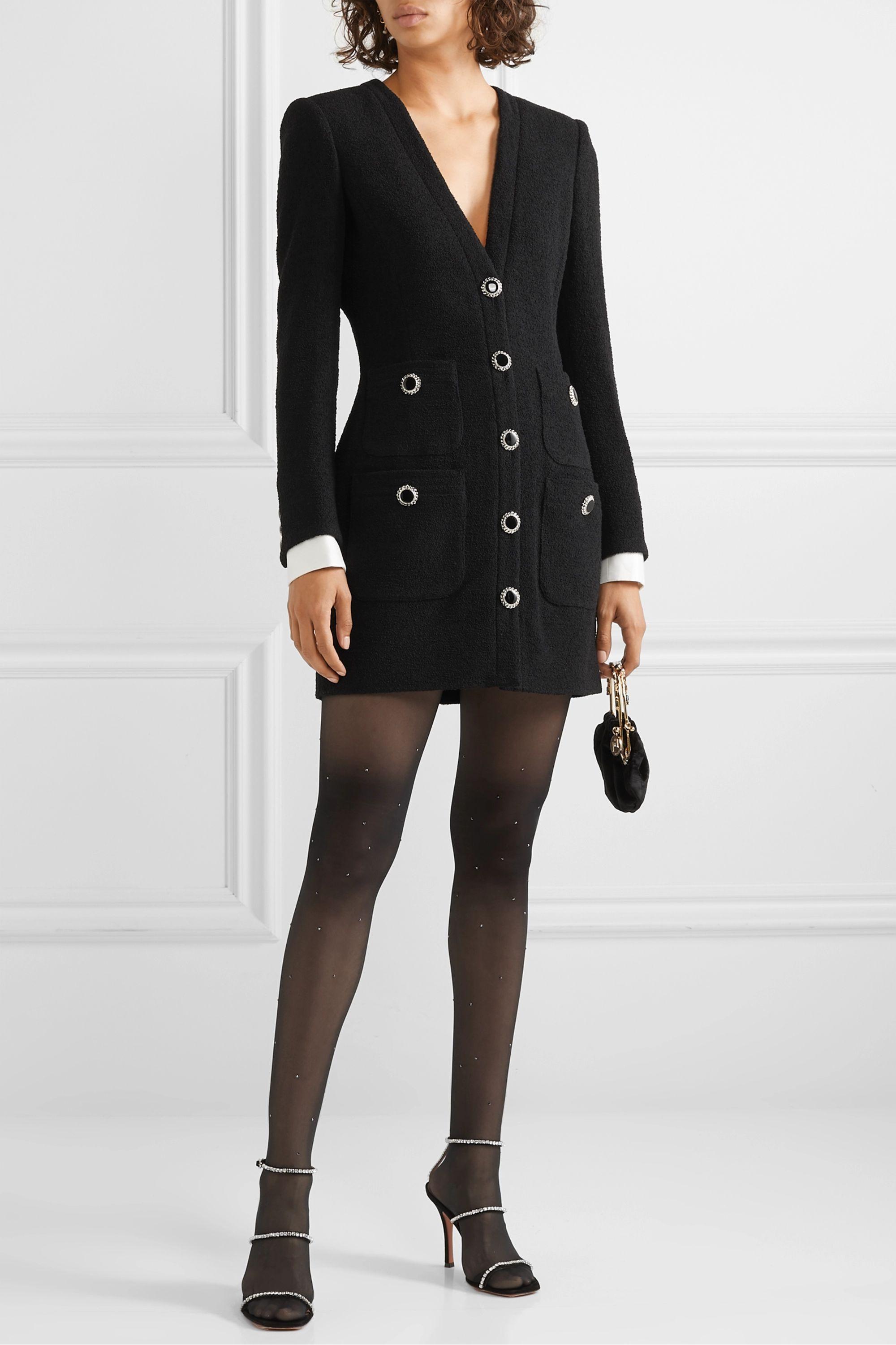 Wolford Swarovski crystal-embellished tights