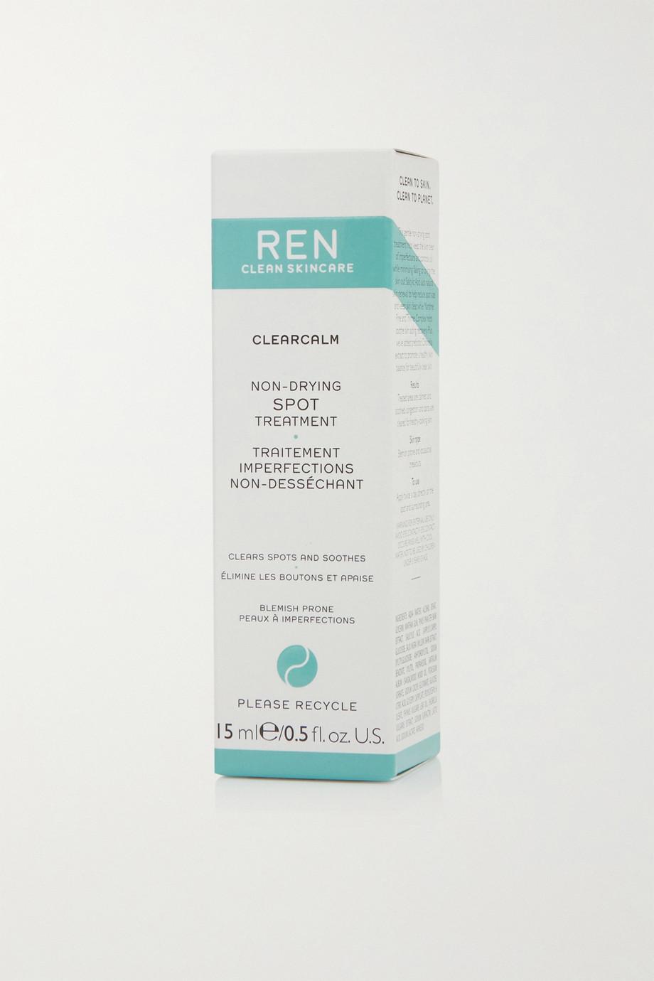 REN Clean Skincare Traitement imperfection non-desséchant ClearCalm, 15 ml