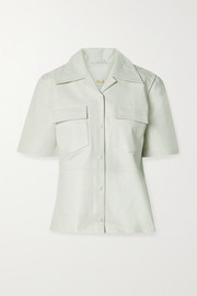 REMAIN Birger Christensen Siena leather shirt
