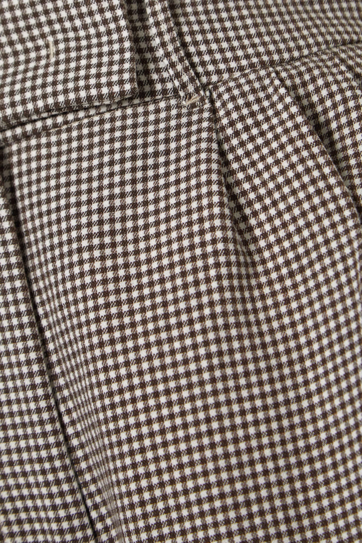 REMAIN Birger Christensen Kit gingham twill shorts
