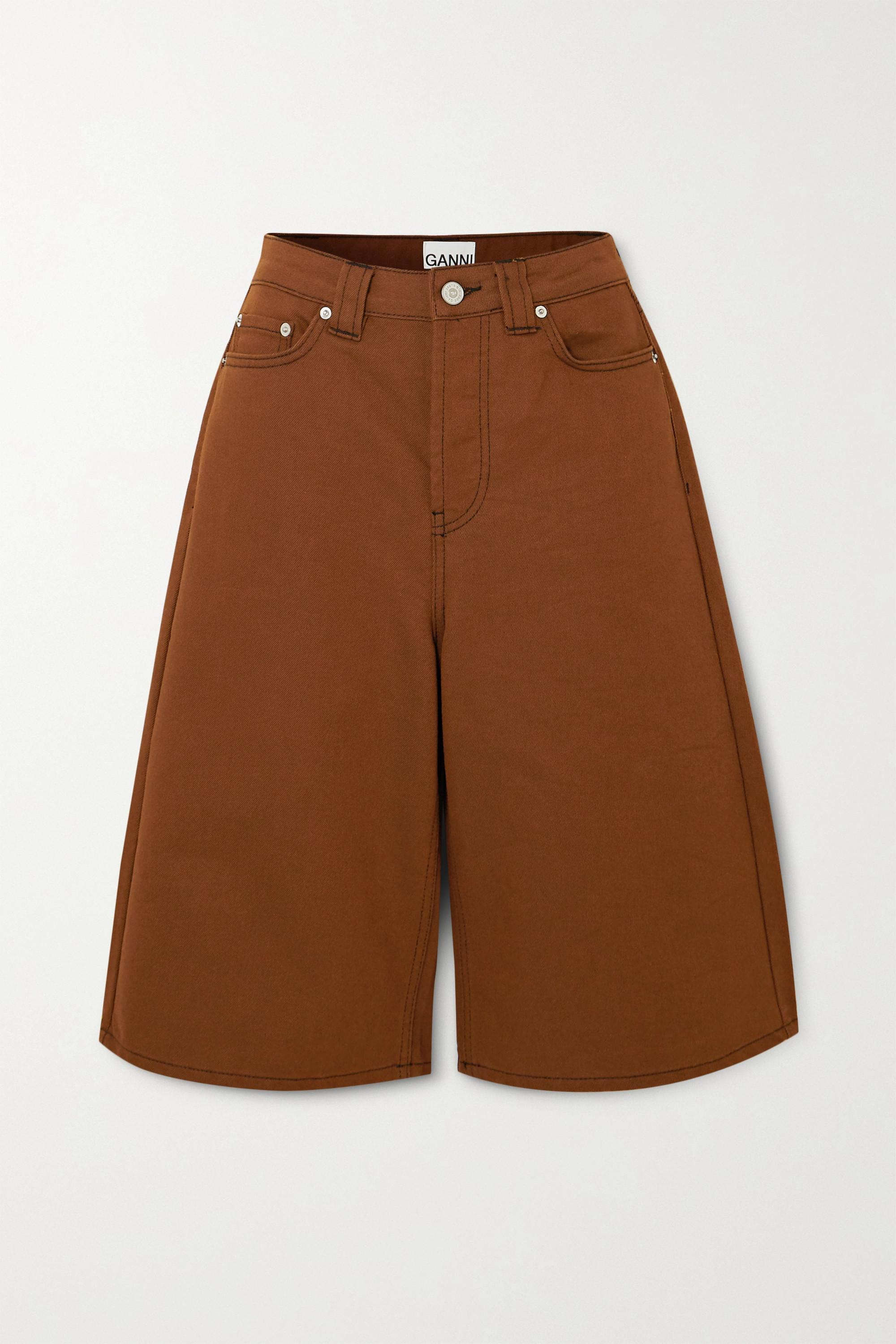 GANNI Short en jean