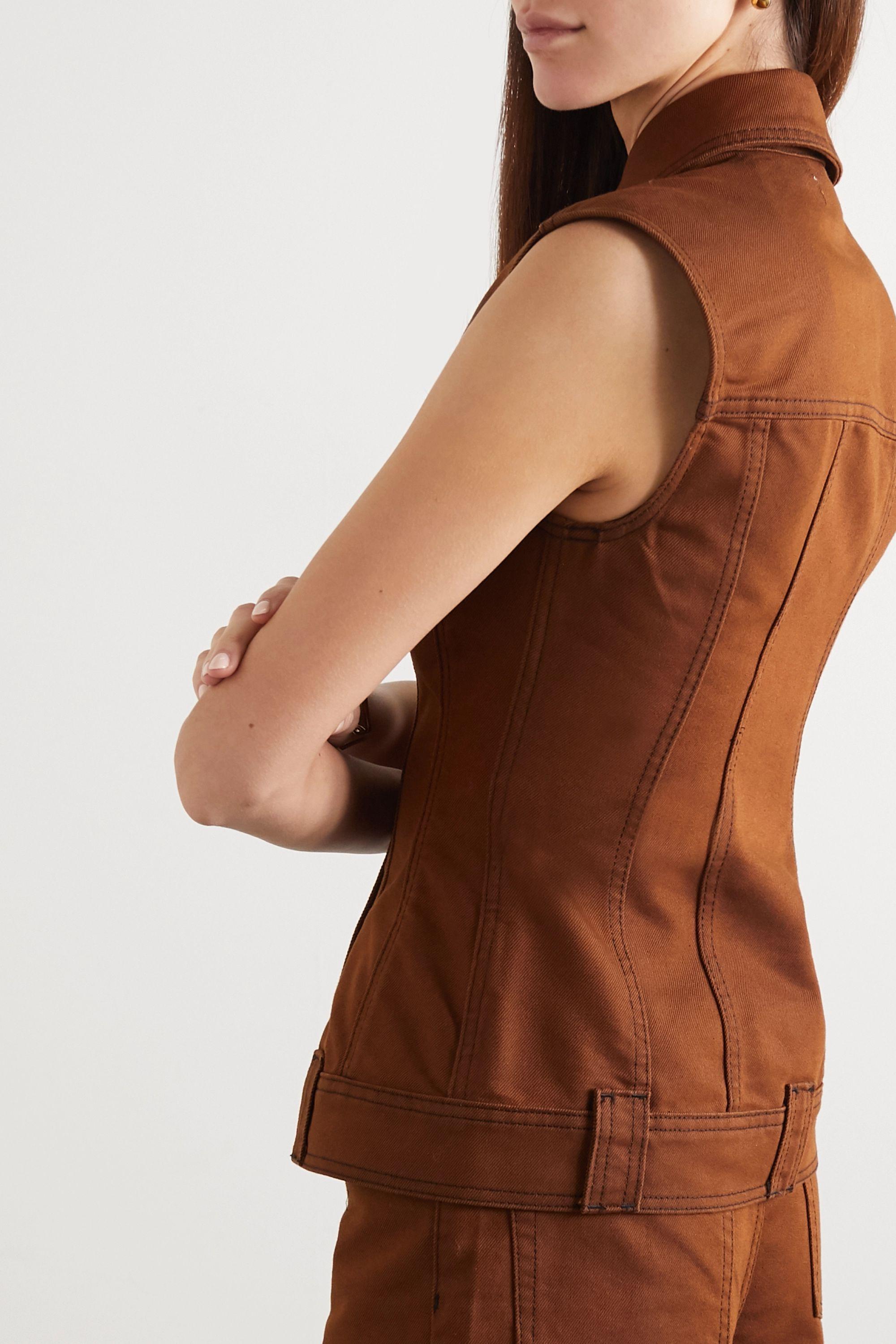 GANNI Jeansweste