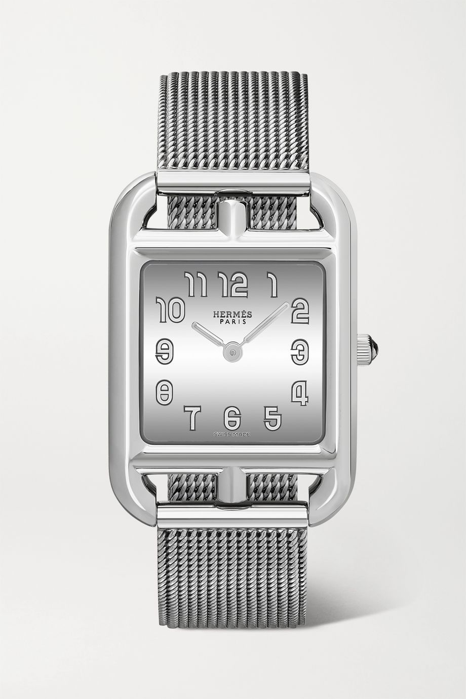 Hermès Timepieces Cape Cod 23mm small stainless steel watch